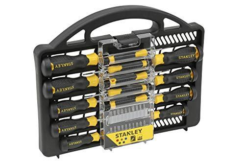STANLEY Screwdriver Set 34 pcs (Model STHT0-62141) - £16.99 (+£4.99 NP) Delivered @ Amazon