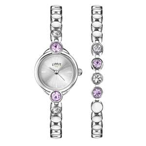 Limit Ladies' Watch & Bracelet Gift Set @ H. Samuel £18.99 (use code)