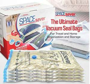 10 vacuum storage bags £15.60 Prime (+£4.49 non Prime) Sold by I-Innovate and Fulfilled by Amazon