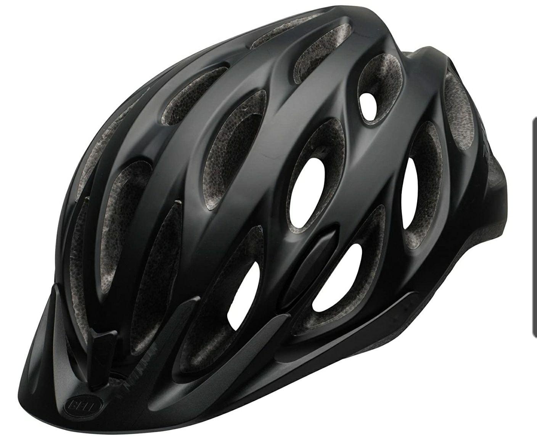 Bell Tracker Cycling Helmet, Non-MIPS, Matt Black, Unisize (54-61 cm) £25.44 at Amazon