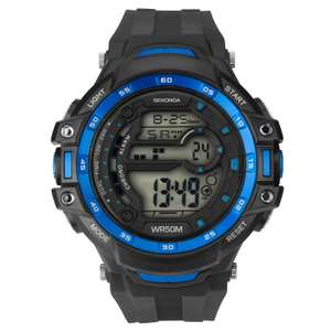 Sekonda Sports Dual-Time Men's Watch - £13.98 delivered (with code) at H.Samuel
