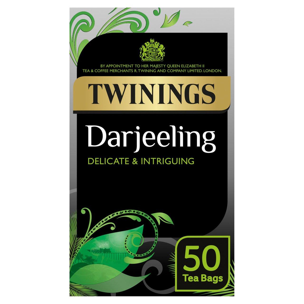 Twinings Darjeeling Tea Bags 50 Pack 125g - 80p @ Morrisons