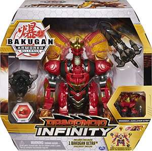 Bakugan Dragonoid Infinity Transforming Figure with Exclusive Fused Bakugan Ultra £13.62 Prime at Amazon (+£3.99 non Prime)