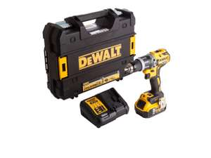 DeWalt DCD796P1-GB 18v 1x5.0Ah Li-Ion XR Brushless Combi Drill Kit (Only 1 in stock) £129 @ FFX