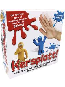 "Paul Lamond 6065"" Kersplatt Board Game £6.22 (+£4.49 non prime) @ Amazon"