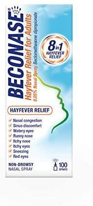 Beconase Hayfever Relief Nasal Spray £4 Amazon Prime / £3.80 S&S (+£4.49 non Prime)