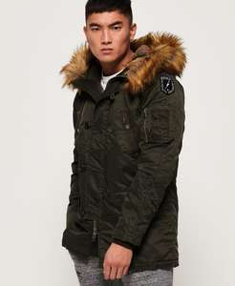 Comando Heavy Parka Jacket (size L & XL) £65 @ Superdry