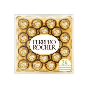 Ferrero Rocher 24 Pieces Boxed Chocolates 300G £5.99 @ Tesco West Bromwich Extra , Dudley Extra & Cradley Extra. Also available online