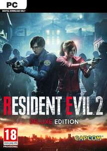 Resident Evil 2 - Biohazard RE2 Deluxe Edition PC Steam - £9.99 @ CDkeys