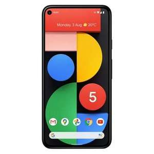 Google Pixel 5 128GB Just Black Vodafone Refurbished Very Good + 12 Months Warranty £424.99 @ musicMagpie eBay (discount at basket)