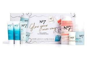 No7 Glow Your Own Way Gift Set - Now Only £12.80 at Boots (£1.50 click and collect or Free over £15 spend)