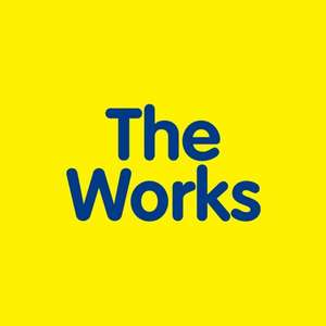 15% off orders over £10 today only at The Works (Selected items)