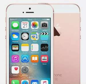 Apple iPhone SE 2016 16GB O2 Rose Gold Good Refurbished Condition Smartphone - £46.74 @ Music Magpie On Ebay