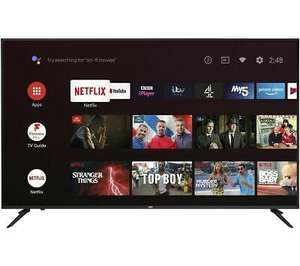 "JVC LT-65CA890 Android TV 65"" Smart 4K Ultra HD HDR LED TV with Google Assistant £449 at Currys Ebay"
