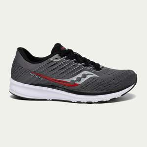 Saucony men's Ride 13 trainers £75 at Up & Running