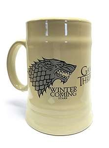Game Of Thrones House Stark Beer Mug £7.82 (+£4.49 Non Prime) at Amazon