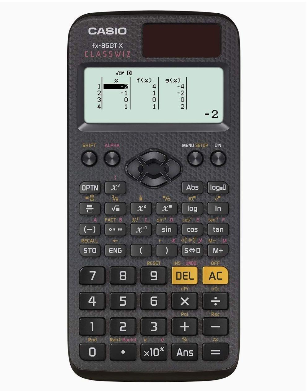 Casio fx-85GTX Scientific Calculator Black - £10.89 (+ £4.49 Non Prime) @ Amazon