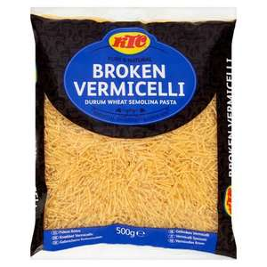 KTC Vermicelli 500g (£1.00 per kilo) 50p (Min Basket / Delivery Fee applies) @ Morrisons