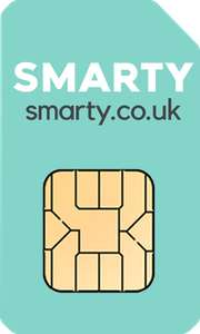 50GB Data, Unlimited Minutes & Texts - £12pm (No Contract) @ Smarty via Uswitch