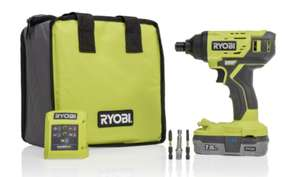 Ryobi Impact Driver Kit - £89.99 @ SGS Engineering Ltd
