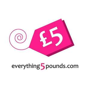 £2.50 SALE 50% off Selected Items (£4.99 Delivery) @ Everything5pounds