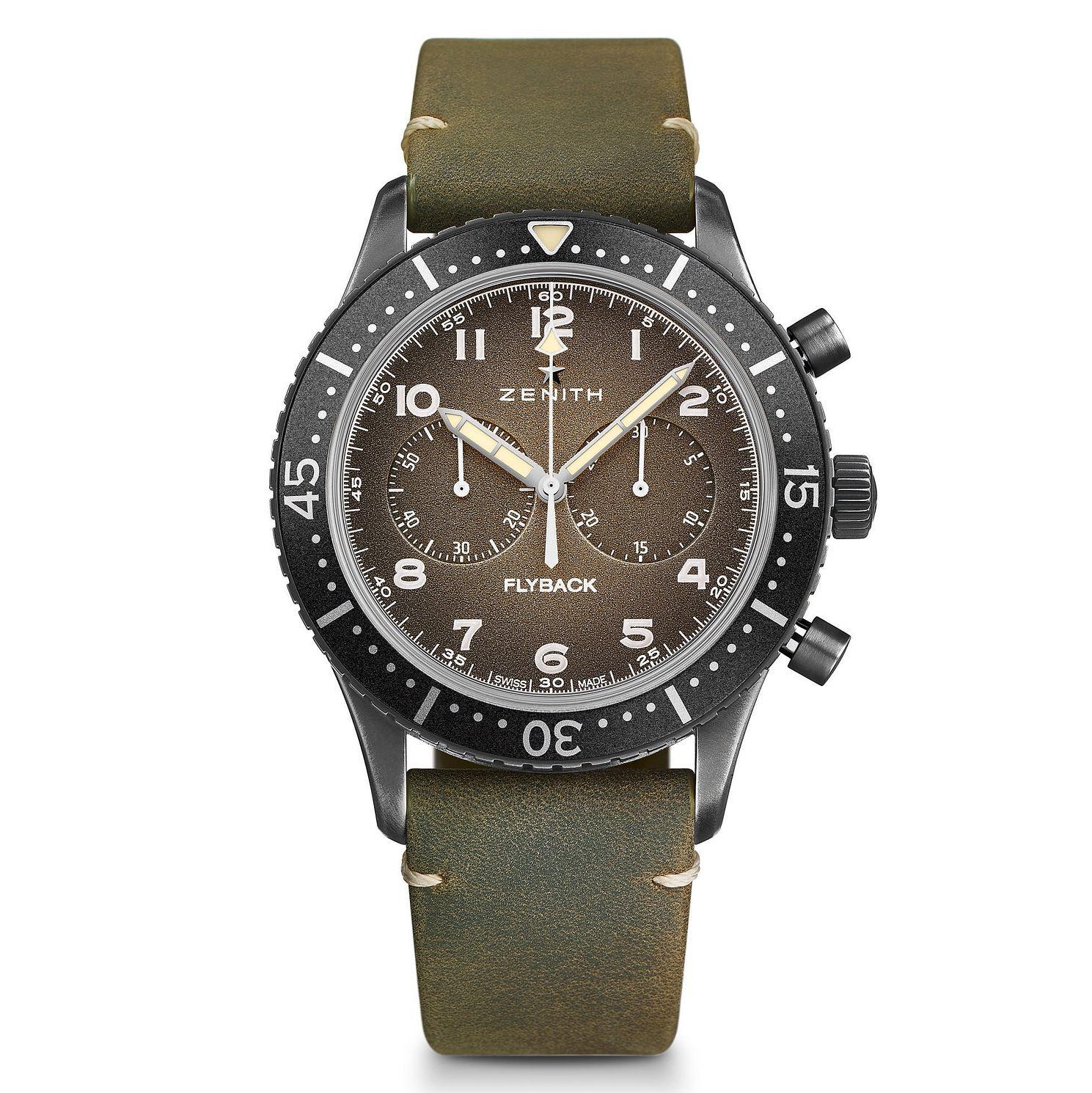Zenith Pilot Cronmetro Tipo Grey Watch - £4,080 (with code) @ Ernest Jones