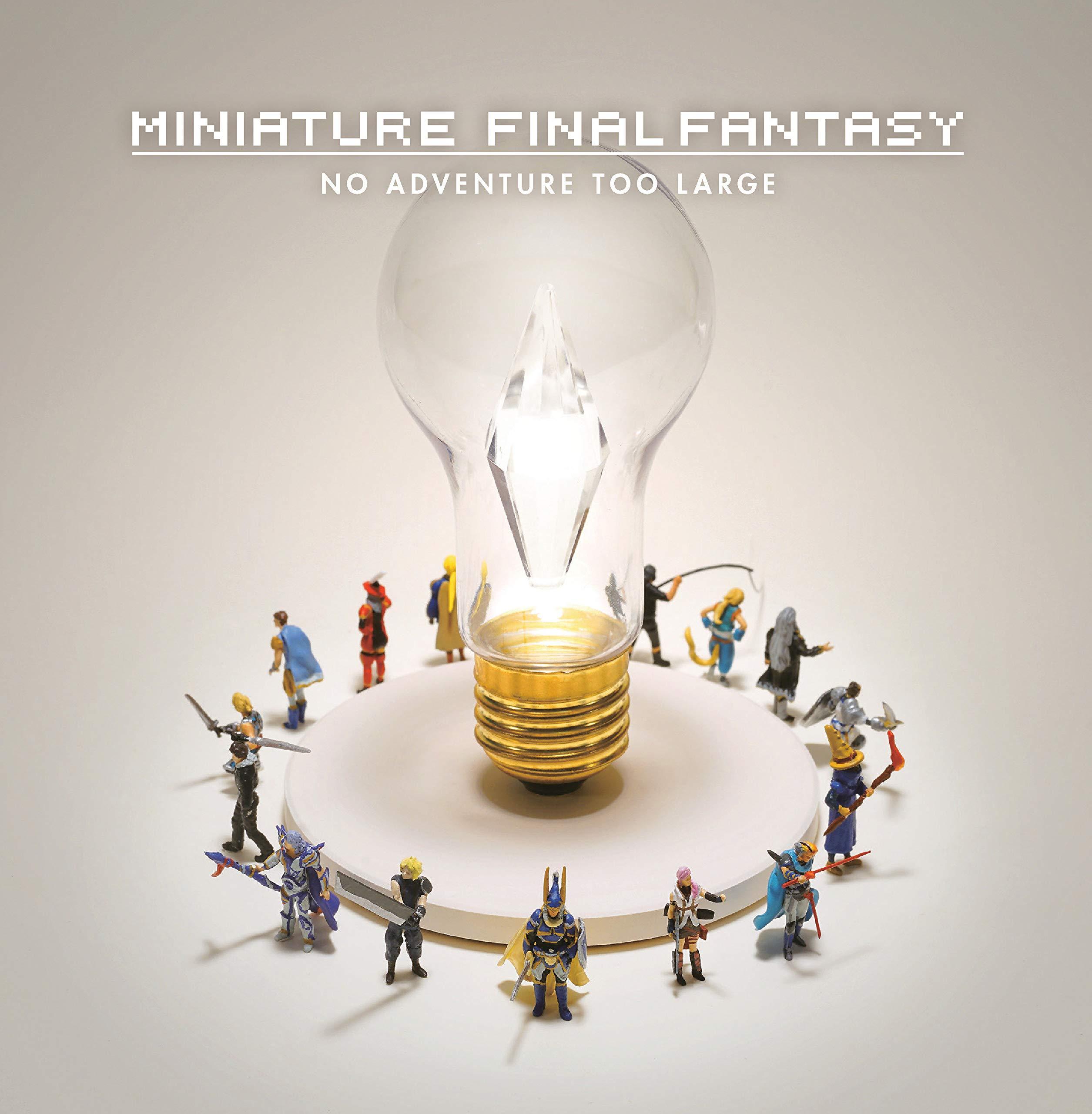 Miniature Final Fantasy: No Adventure Too Large (Hardback Book) £7.99 Delivered @ gp_ltd / eBay