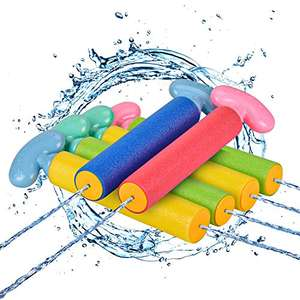 6 x Water Gun, Squirt Gun 6 Pcs Water Blaster with Long Range up to 32ft £7.91 + £4.49 NP Sold by Balnore-EU and Fulfilled by Amazon