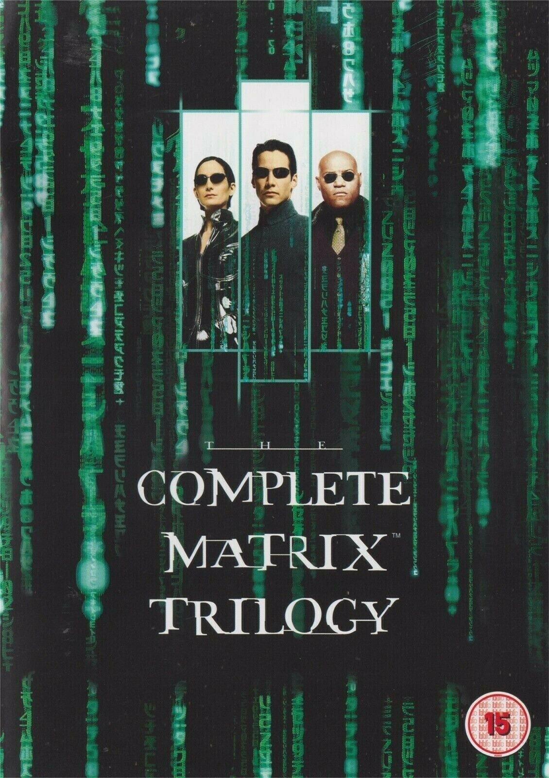 Matrix Trilogy - 3 Films Bundle in 4K (Stream via Apple TV) £9.99 @ iTunes Store