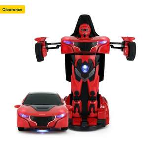 RS Transformable Toy Car - £5 (Free Collection / £4.95 Delivery) @ Robert Dyas