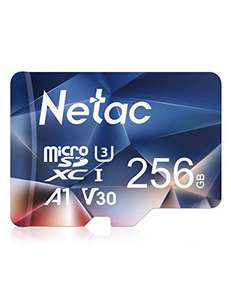 Netac 256GB Micro SD Memory Card, MicroSDXC Card UHS-I, 100/30MB/s(R/W) TF Card £16.67 (+£4.49 nonpime) Sold by Netac Official Store FBA