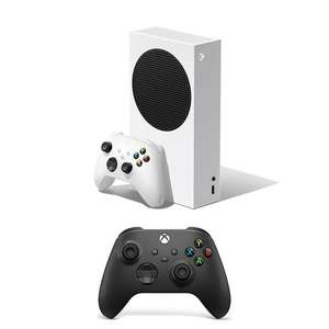 Xbox Series S Console & Extra Black Controller Bundle £289.99 - Click & Collect in Limited Stores @ Smyths Toys