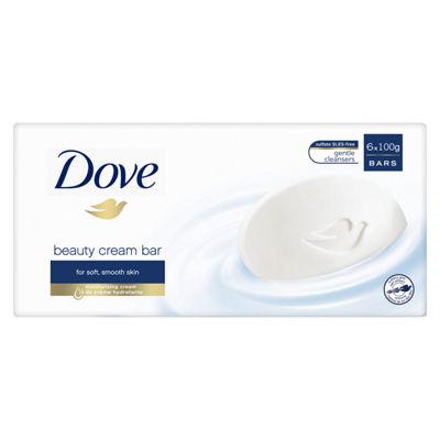 Dove Original Beauty Cream Soap Bars 6 x 100g £2.47 @ Asda