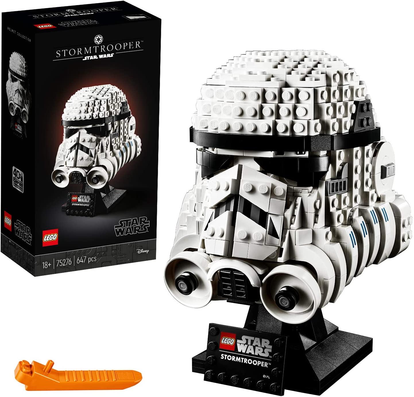 LEGO Star Wars 75276 Stormtrooper Helmet Display Building Set £39.99 Amazon Treasure Truck (Prime only)