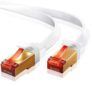 Cat 7 ethernet (15m) amazon £7.32 (+£4.49 Non Prime) @ Sold by Ibraonline and Fulfilled by Amazon.