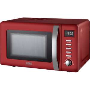 Beko 20L 800W Retro Microwave for £59.25 delivered with code @ Beko