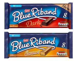 Blue Riband Dark 8 x 17.5g - Dark/Caramel - £1 (Minimum Basket / Delivery Fee Applies) @ Morrisons