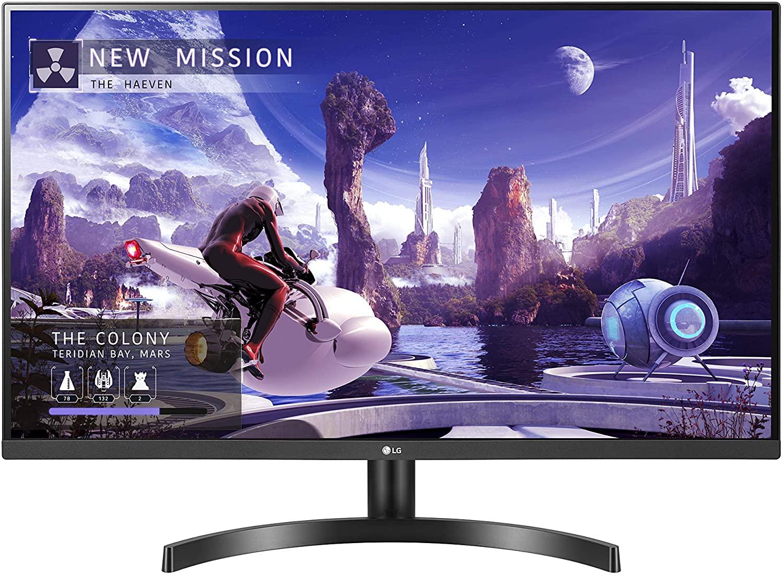 LG 32QN600-B, 31.5 Inch QHD IPS (2560x1440) HDR10, 75Hz AMD FreeSync Dual HDMI Monitor - £219.99 delivered @ Costco