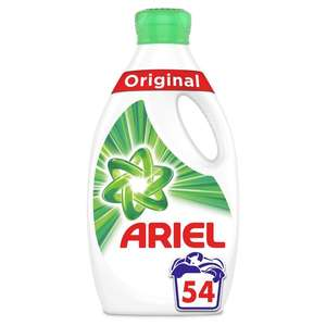 Laundry Products (selected Ariel, Bold and Fairy) Buy 2 for £12 - Online Exclusive @ Morrisons (delivery charge may apply)