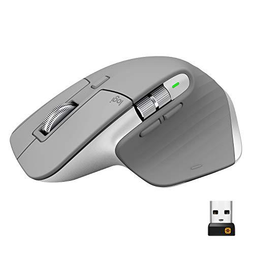 Logitech MX Master 3 Advanced Wireless Mouse - Light Grey £75.76 @ Amazon