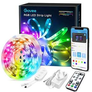 Govee LED Strip Lights 5m Bluetooth with Remote Control £14.44 prime / £18.93 nonprime Sold by Govee UK and Fulfilled by Amazon.