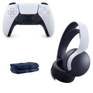 PS5 Pulse 3D WIreless Headset + PS5 Wireless Controller & Face Cloths - £131.98 Collect / £135.48 Delivered (UK Mainland) @ Home Essentials
