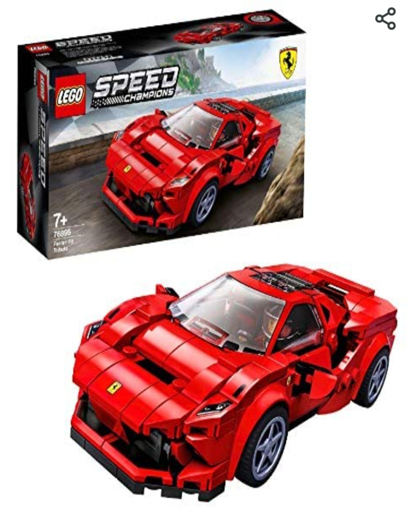LEGO Speed Champions 76895 Ferrari F8 Tributo £13.19 Prime +£4.49 Non Prime (UK Mainland) Sold by Amazon EU @ Amazon