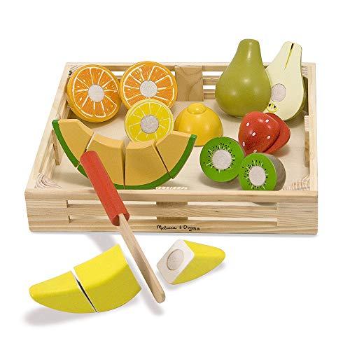 Melissa & Doug Wooden Cutting Fruit Playset - £6.35 prime / £10.84 nonPrime @ Amazon