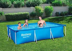 Bestway Rectangular Frame Swimming Pool, Steel Pro, 9.1 ft £68.10 delivered at Amazon