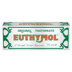 Euthymol Original Toothpaste 75ml £1.49 at Basingstoke Home Bargains
