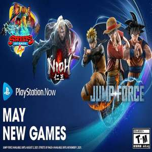 PS Now (May 21) - Jump Force, Nioh and Streets of Rage 4