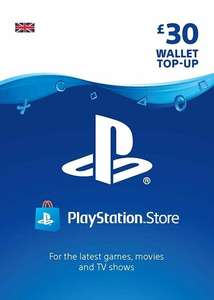 PlayStation Network Card 30 GBP £23.39 using code @ Eneba / VenomDigital