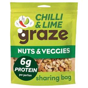 Graze Crunch snacks 104g £1.50 at Waitrose