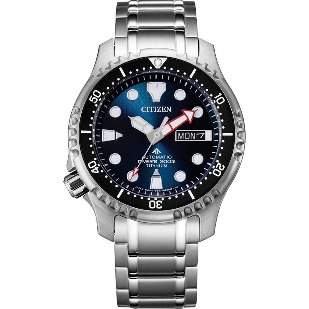 Citizen Men's Titanium Promaster Marine Automatic Watch NY0100-50ME £237.39 @ Amazon